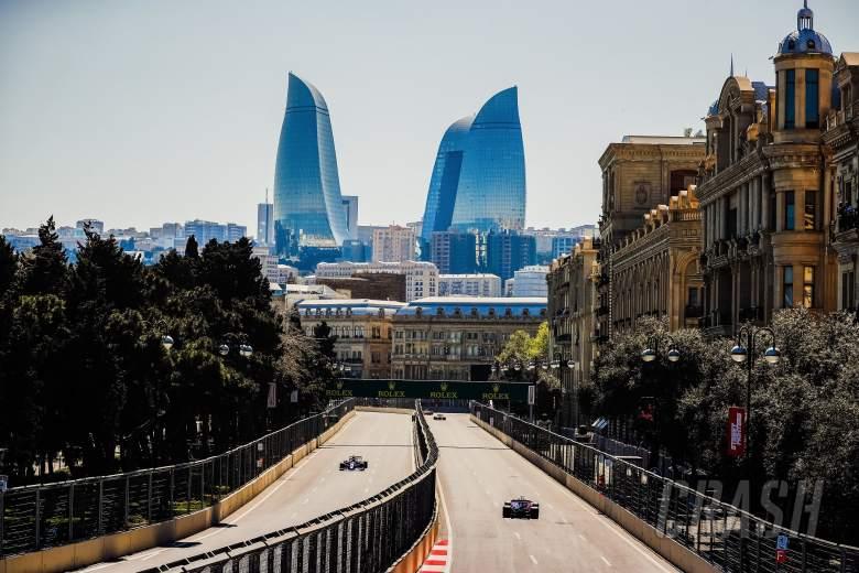 F1 Azerbaijan Grand Prix - Qualifying Results