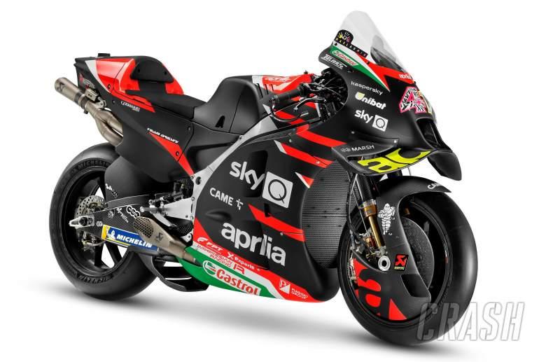 Aprilia MotoGP Luncurkan RS-GP 2021, Duetkan Espargaro dengan Savadori