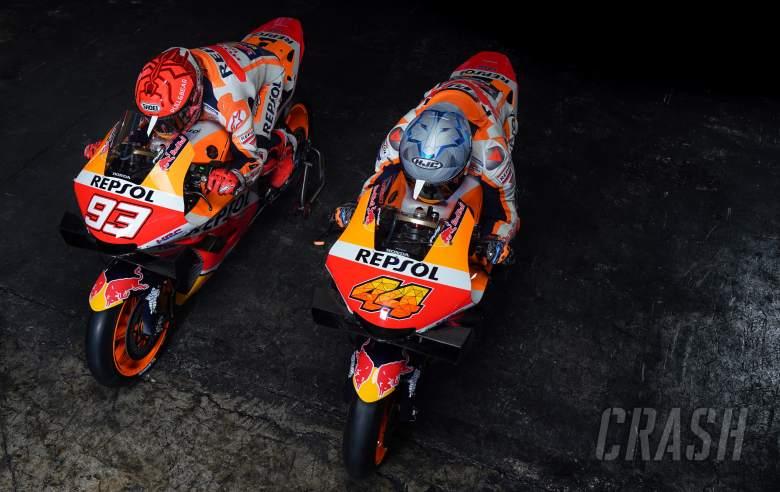 Marc Marquez dan Pol Espargaro, Presentasi Repsol Honda 2021