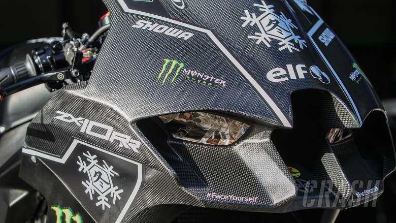 All-new Kawasaki ZX-10RR breaks cover at WorldSBK test, immediately tops times
