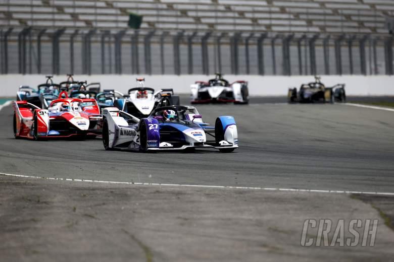 Dennis converts pole into maiden Formula E victory in Valencia E-Prix