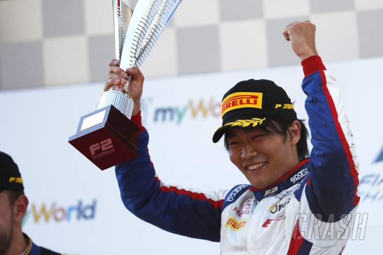 Matsushita claims Carlin's first F2 win in over a year
