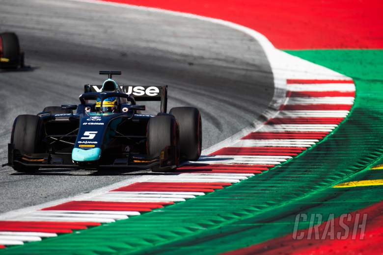 Sette Camara fends off Ghiotto for Austria F2 Sprint victory