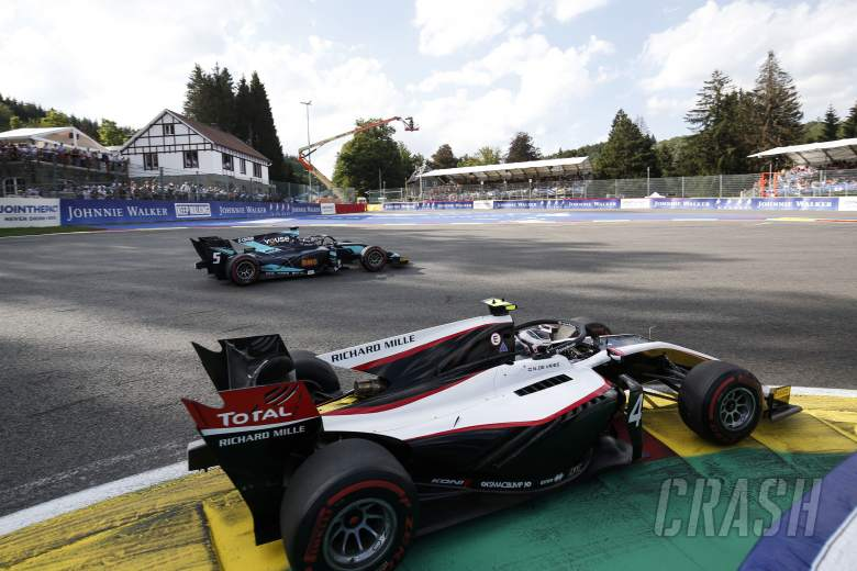 Formula 2 cancels Sunday race following Hubert's death