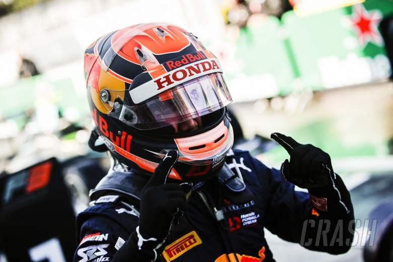 Honda junior Tsunoda makes F2 step for 2020