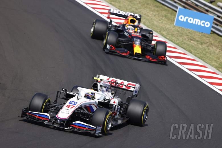 Schumacher pleased not to 'crack under pressure' in Verstappen F1 duel