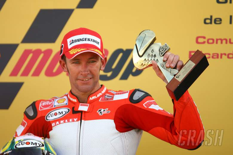 Troy Bayliss recalls his surprise one and only MotoGP victory