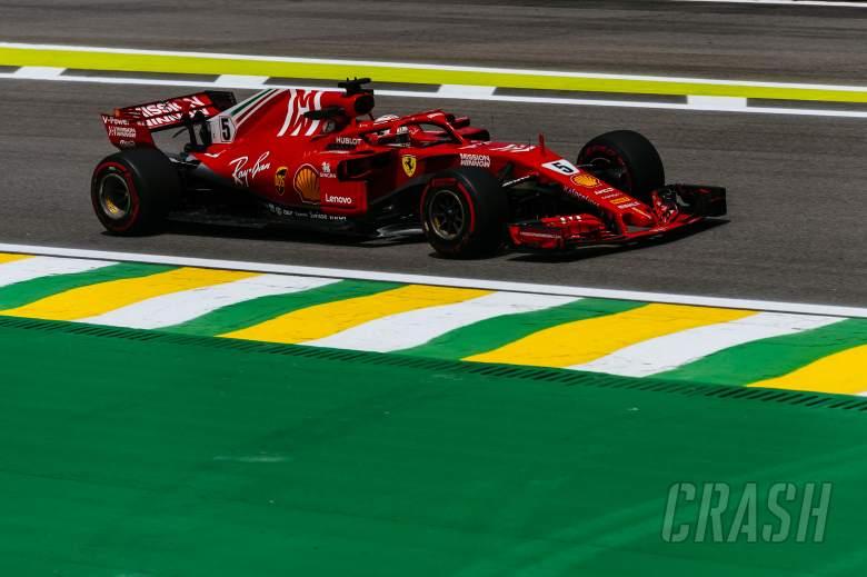 Vettel pulls clear in final Brazilian GP practice