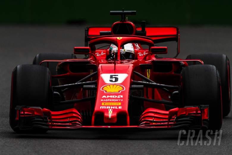 Vettel fastest as Sirotkin crashes in final Baku F1 practice