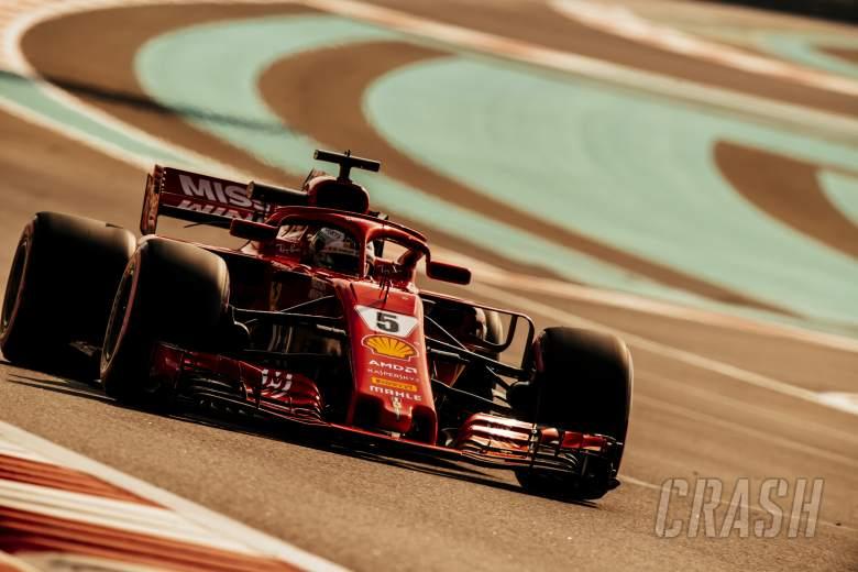 Vettel: Perubahan ban F1 2019 'lumayan kecil'