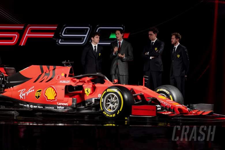 Ferrari confirms launch date for 2020 F1 car