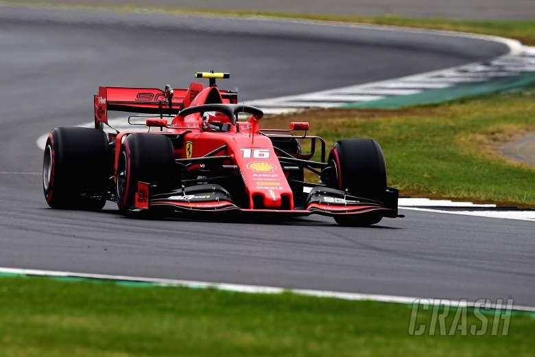 Leclerc surprised by Ferrari's pole challenge to Mercedes