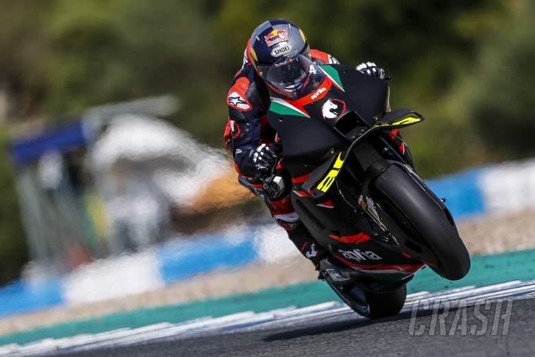 Andrea Dovizioso and Aprilia to continue 2021 MotoGP testing at Misano
