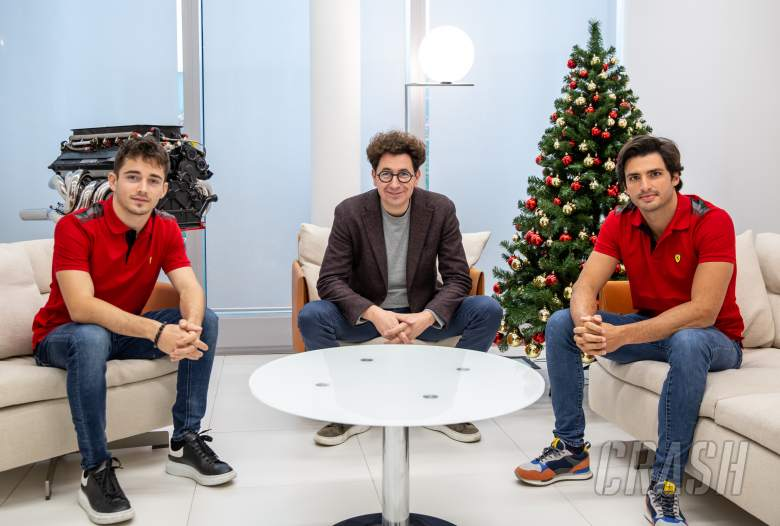 Ferrari: Leclerc and Sainz will start 2021 F1 season with equal status