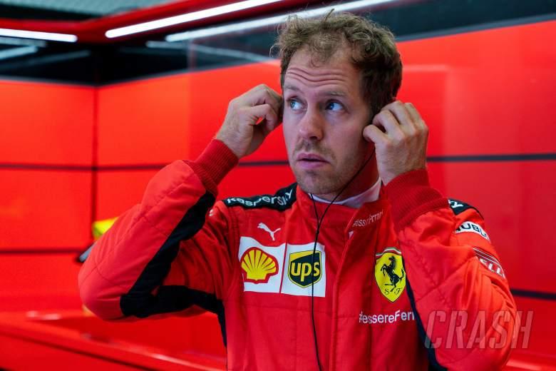 Vettel has no plans to 'run away' from Ferrari F1 team in 2020