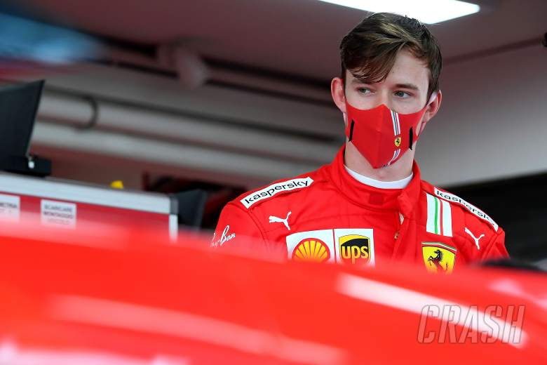 Ferrari F1 test driver Ilott set for 2021 practice debut with FP1 outings