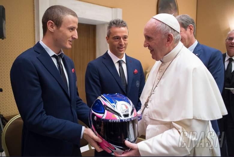 'I feel like an Australian diplomat!' - Miller meets the Pope