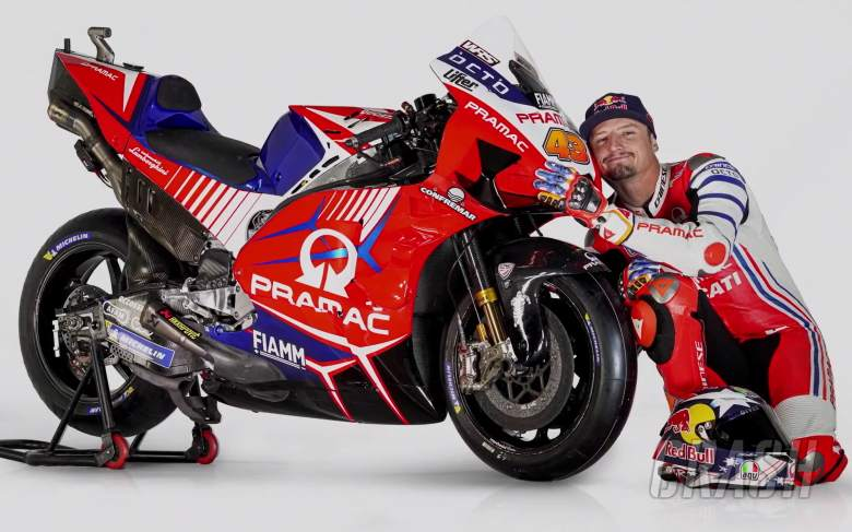 Pramac presents 2020 MotoGP livery