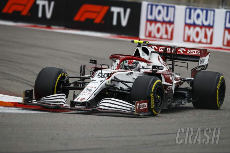 """Giovinazzi drove """"silent race"""" after Russian GP F1 radio outage"""