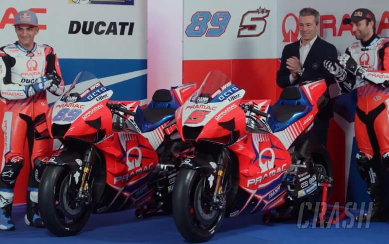 FIRST LOOK: Johann Zarco, Jorge Martin present 2021 Pramac Ducatis