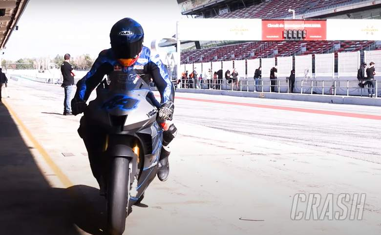 Pol Espargaro: 'Now it matches better with motorcycles than cars'
