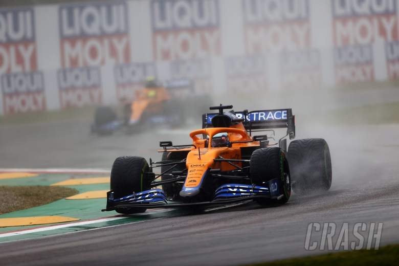 "Why Ricciardo was happy to ""accept defeat"" against McLaren F1 teammate Norris"