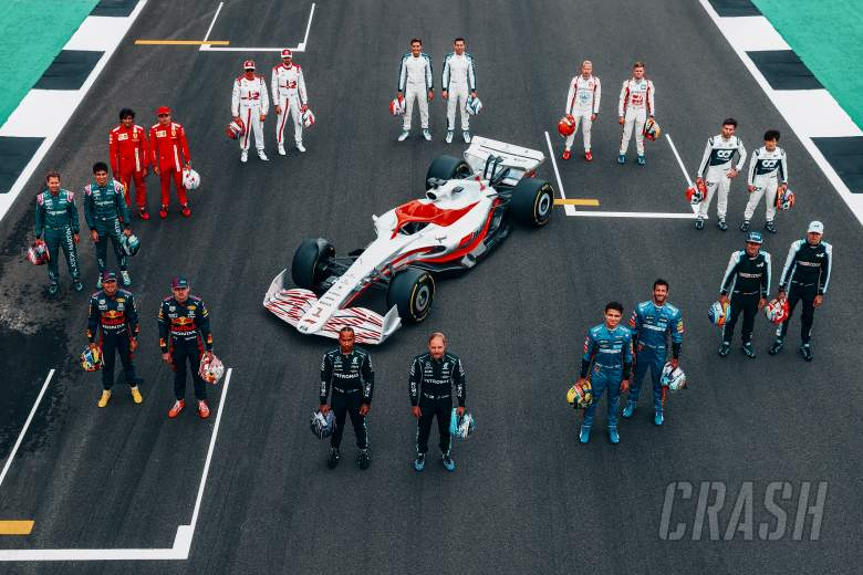 The drivers' first impressions of 'futuristic, aggressive' 2022 F1 car