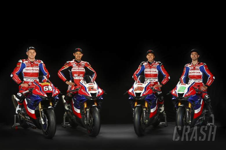 BSB: Honda Racing UK unveil iconic tri-colour 2021 livery