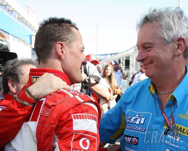 Pat Symonds, Michael Schumacher, F1, Ferrari, Renault,