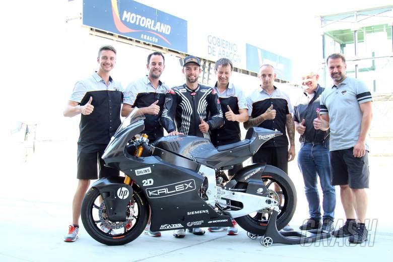 Moto2: Folger kembali untuk tes Kalex-Triumph