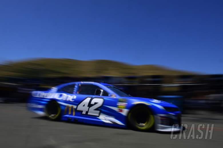Kyle Larson scores third successive pole at Sonoma Raceway