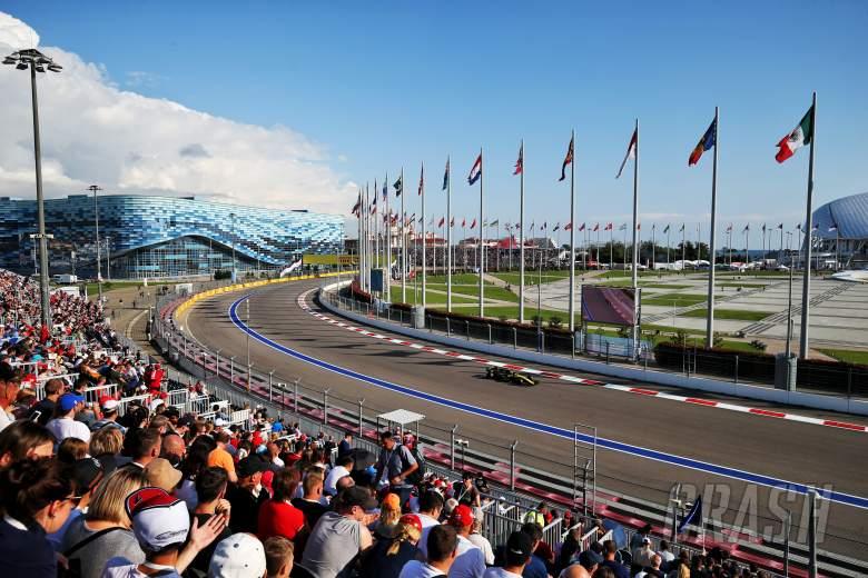 F1 Russian Grand Prix - Qualifying Results