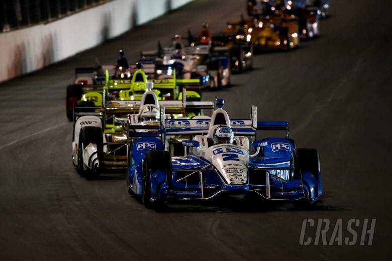 Newgarden Pulls Off Another Bold Maneuver To Win At Gateway