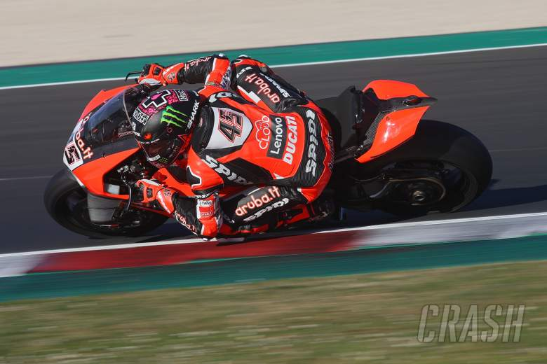 Scott Redding second for Ducati on opening day of testing in Misano