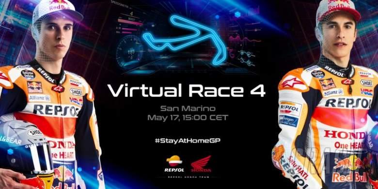 Marquez bersaudara mengincar podium ganda saat MotoGP Virtual menuju ke Misano