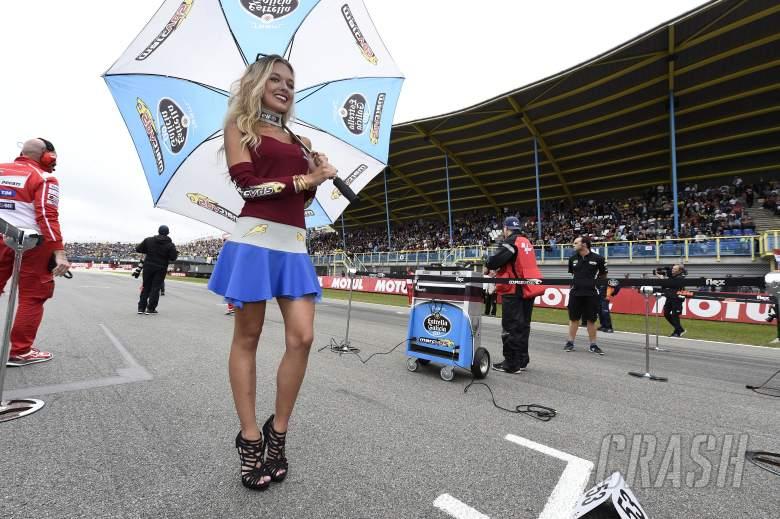 Grid girl, MotoGP,