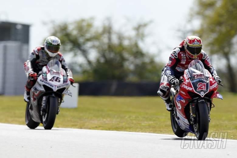 Iddon tops day-two of British Superbike pre-season testing at Snetterton