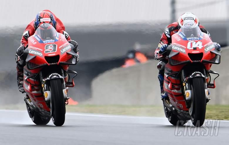 Andrea Dovizioso, Danilo Petrucci - Ducati Team MotoGP