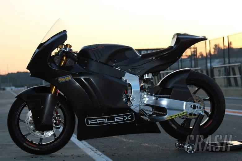 Moto2: Kalex Triumph 1.3s from lap record