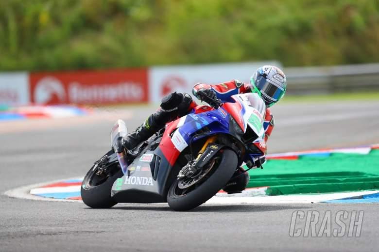 Irwin returns to form at Thruxton despite late race one crash