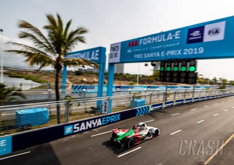 Formula E Sanya E-Prix - Hasil Perlombaan