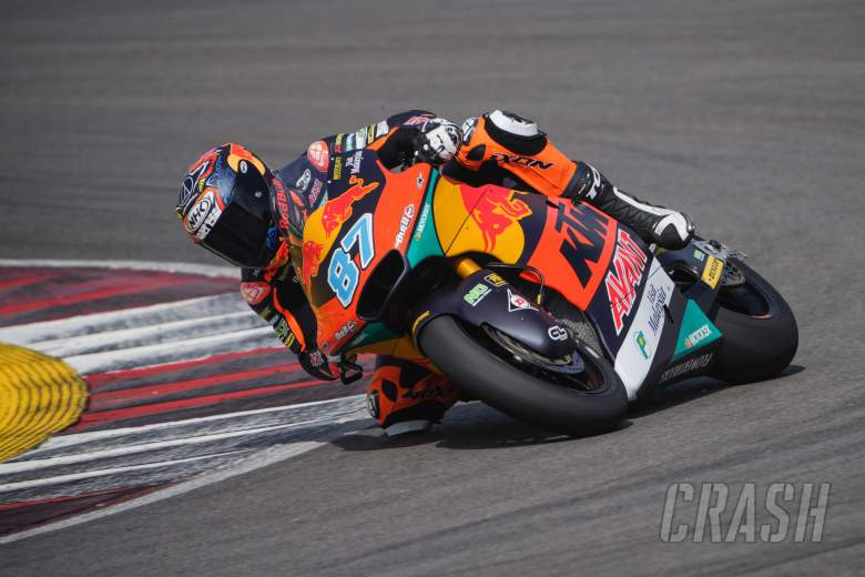 Red Bull KTM Ajo Moto2 team complete two-day test with Remy Gardner quickest