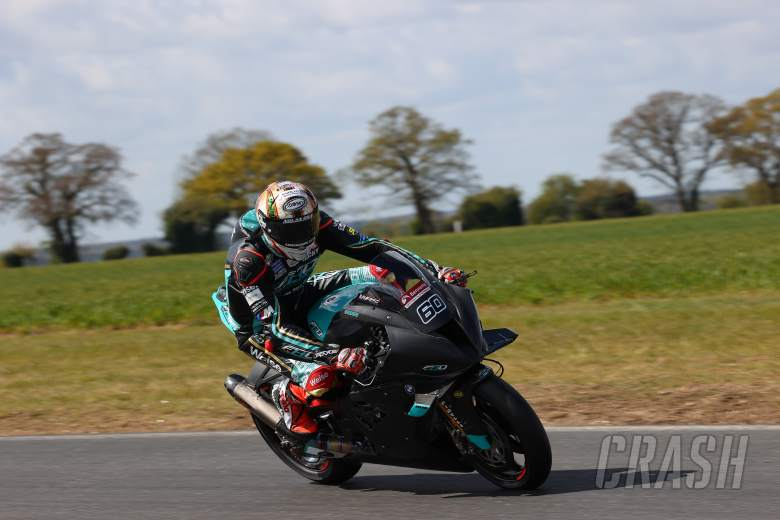 'BMW felt good straight off, nice to be in the top five' - Hickman