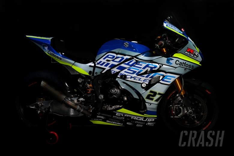 Powerslide Catfoss Racing Suzuki unveil 2021 British Superbike livery