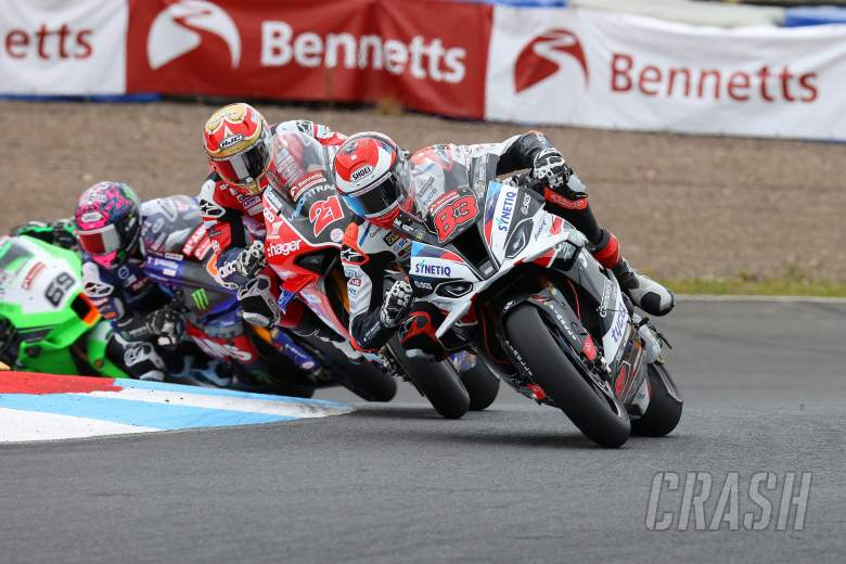 'Harsh or brave moves' at Knockhill down to 'championship' importance - Buchan