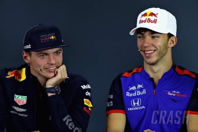 Verstappen ingin menjaga 'atmosfer bagus' Red Bull dengan Gasly