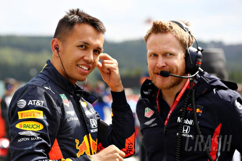 """""""Very mature"""" Albon impresses Red Bull on Spa debut"""