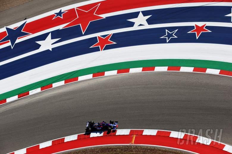 F1 United States Grand Prix - FP1 Results