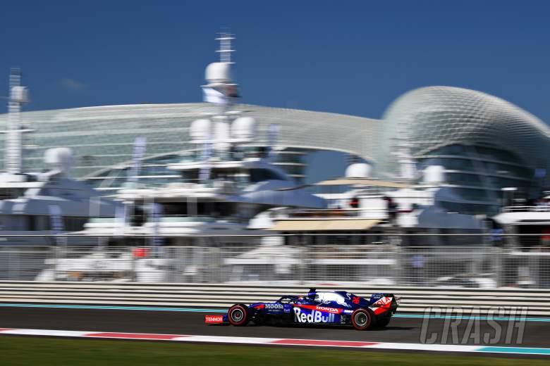 F1 Abu Dhabi Grand Prix - FP1 Results