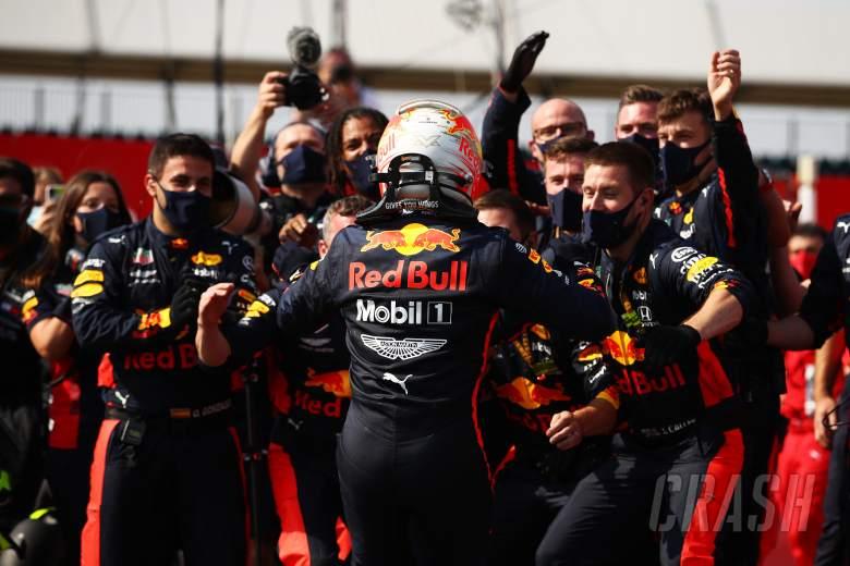 Verstappen beats Mercedes to F1's 70th Anniversary GP win